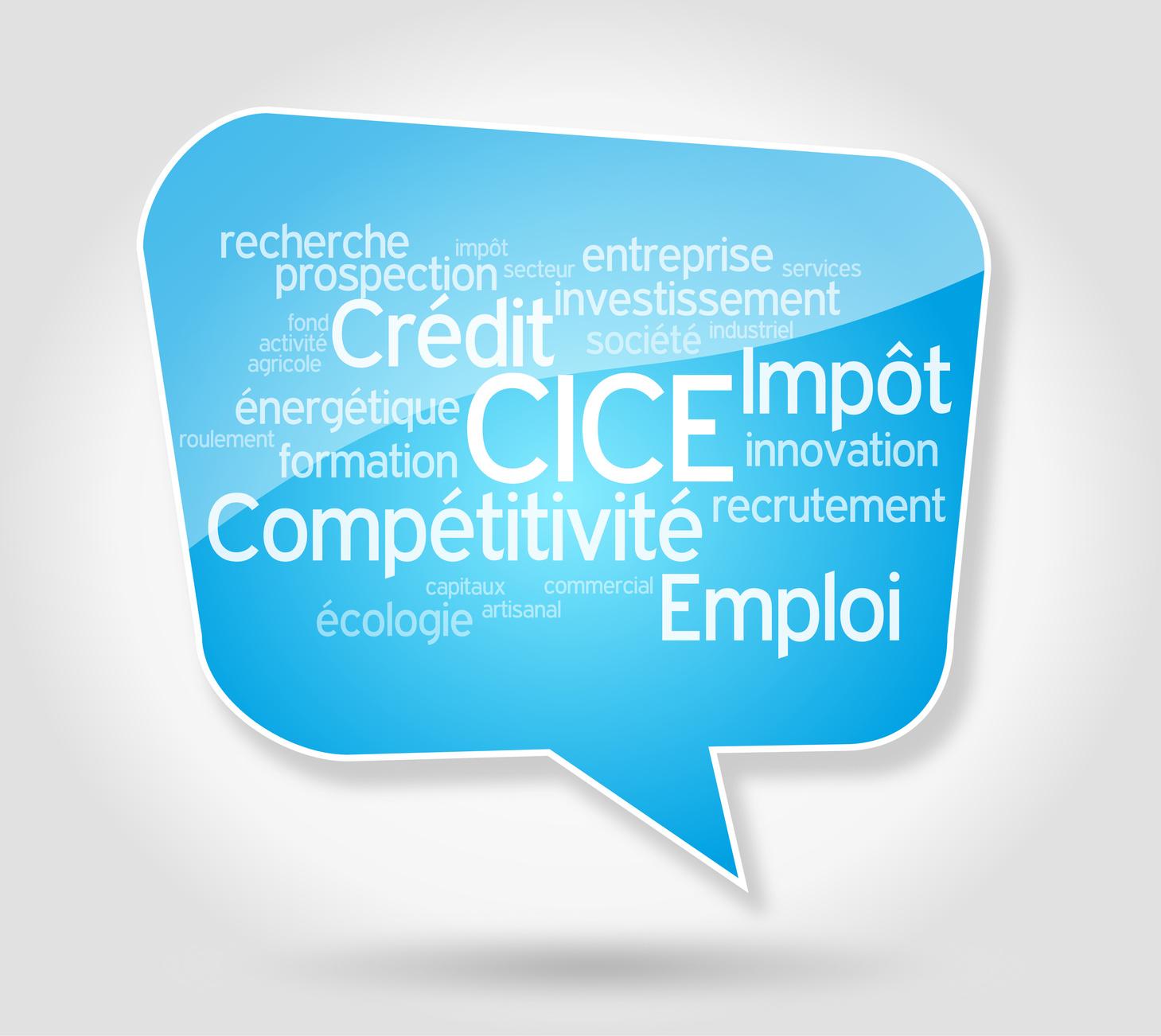 Le CICE (Crédit d'impôt pour la compétitivité et l'emploi)