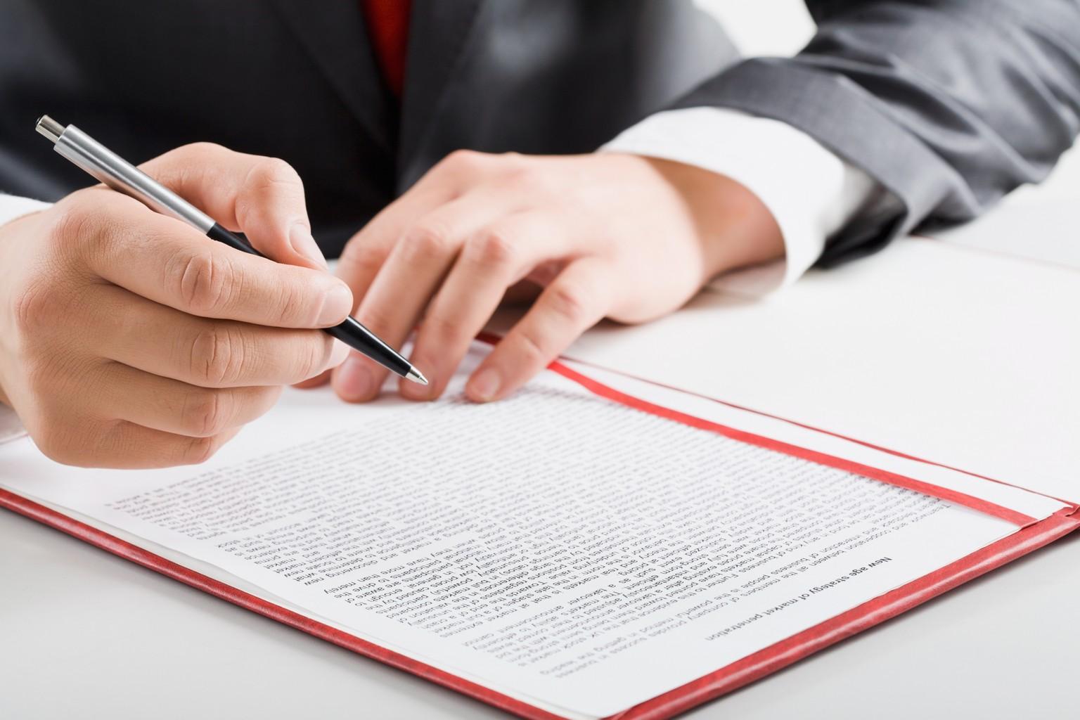 Signez votre avant contrat